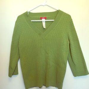 🎁BOGO🎁Anne Klein Sport sweater size XL